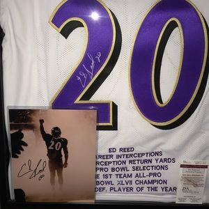 Ed Reed Signature